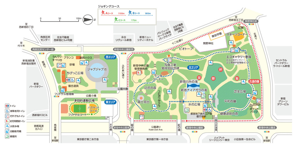 新宿中央公園フットサル施設